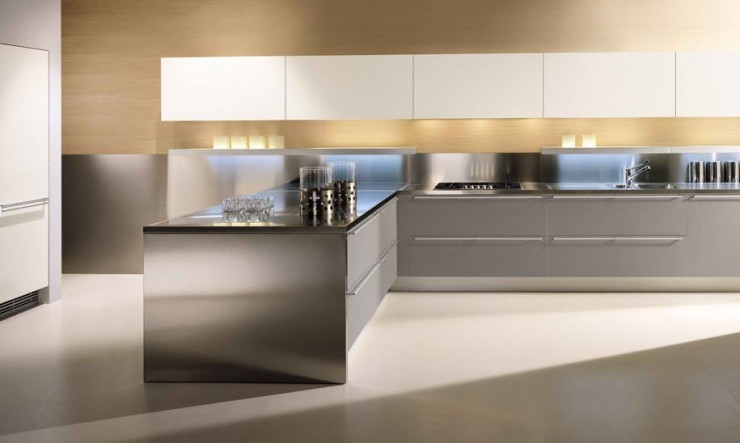 ERNESTOMEDA contemporary aluminium kitchen