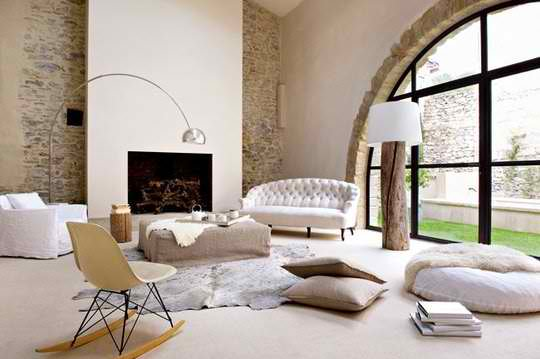 contemporary living room design 4 by Marie-Laure