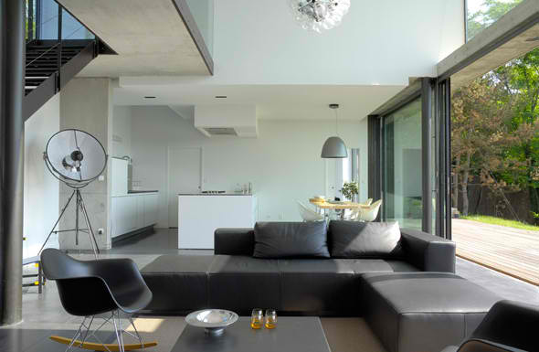 contemporary living room 7 design by  Pierre Minassia