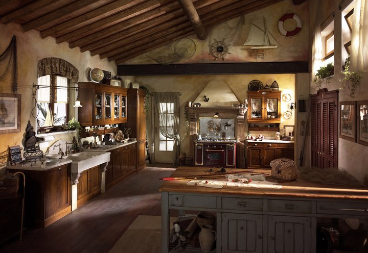 Attractive country kitchen designs ideas that inspire you for A line salon corte madera