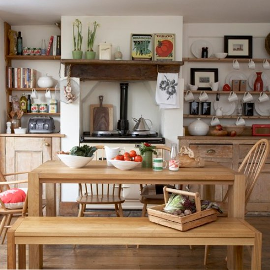 country oak kitchen design
