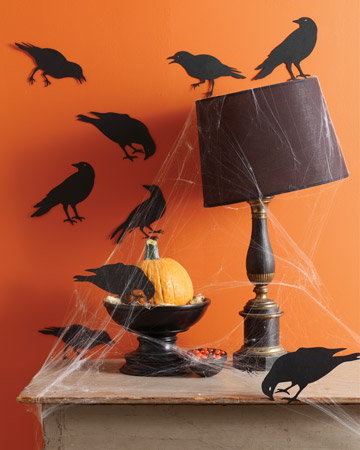 halloween silhouetees decorating ideas