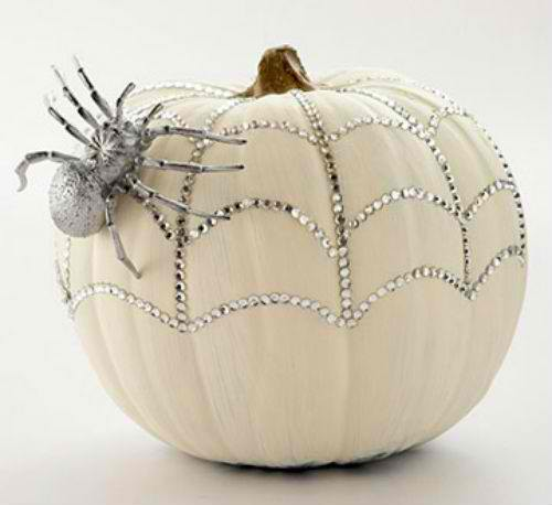 elegant pumpkin halloween decor