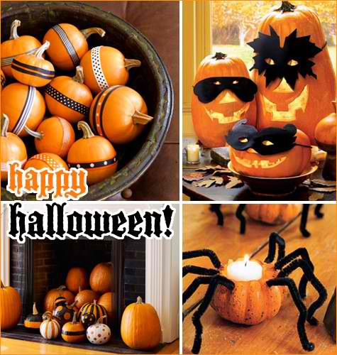 halloween pumpkins decorating ideas