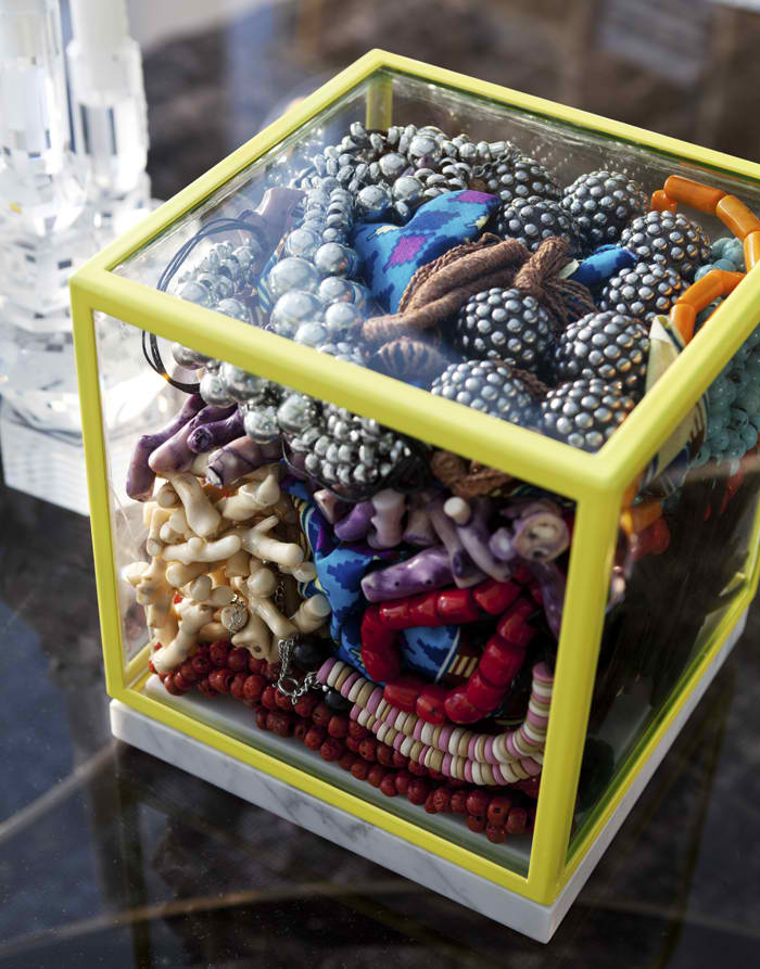 home decor glass box