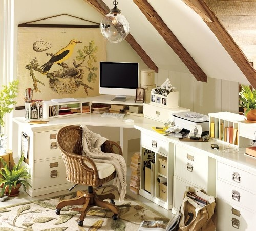 home office natural style