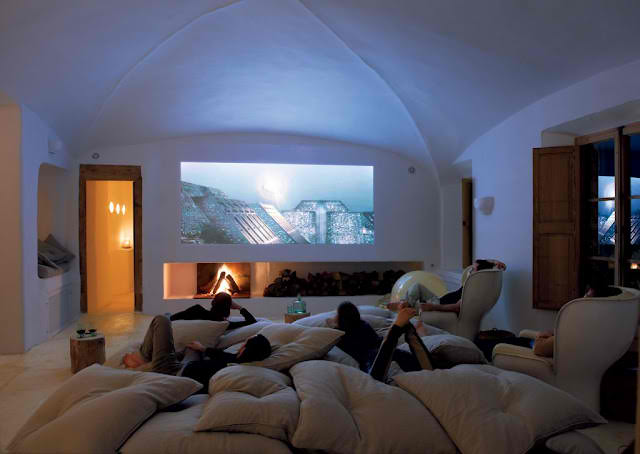 Cave Home Theater Room