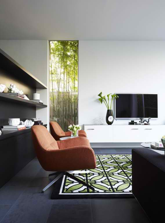 Modern interior design by greg natale decoholic Modern living room interior design 2012