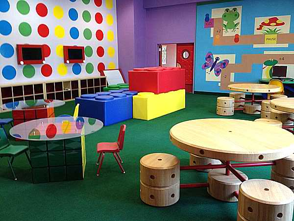 leggo inspired kid's playroom 13