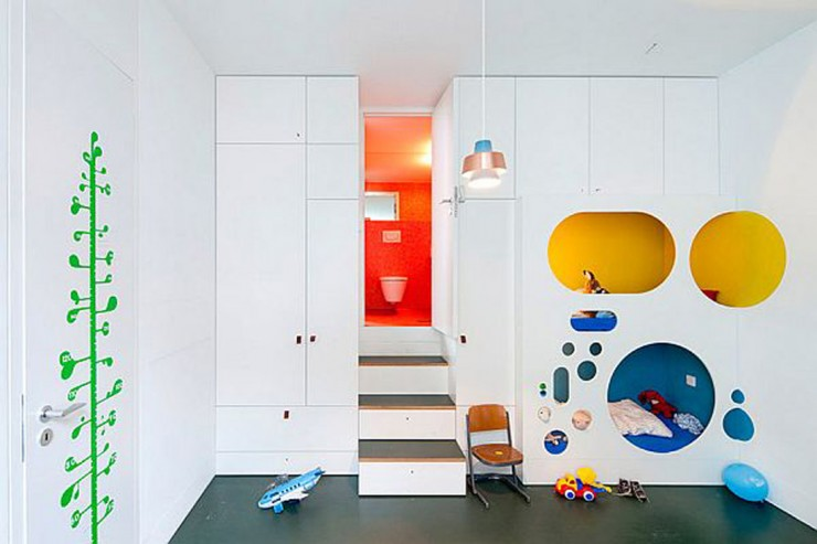kid's playroom modern design