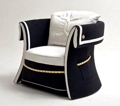 luxury nautical armchair colombostile