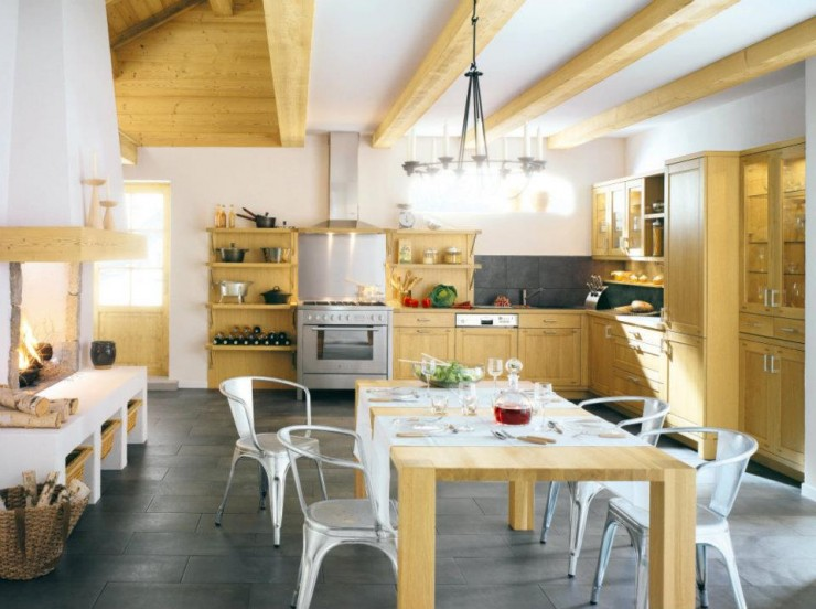 modern country kitchen design