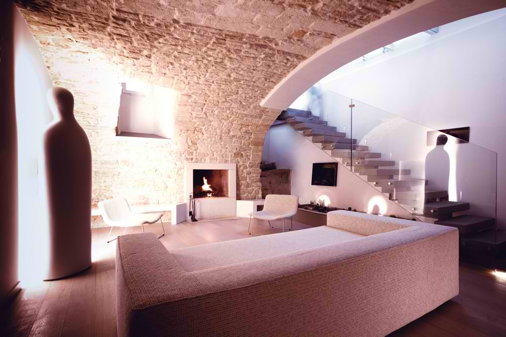 modern house castle interior design