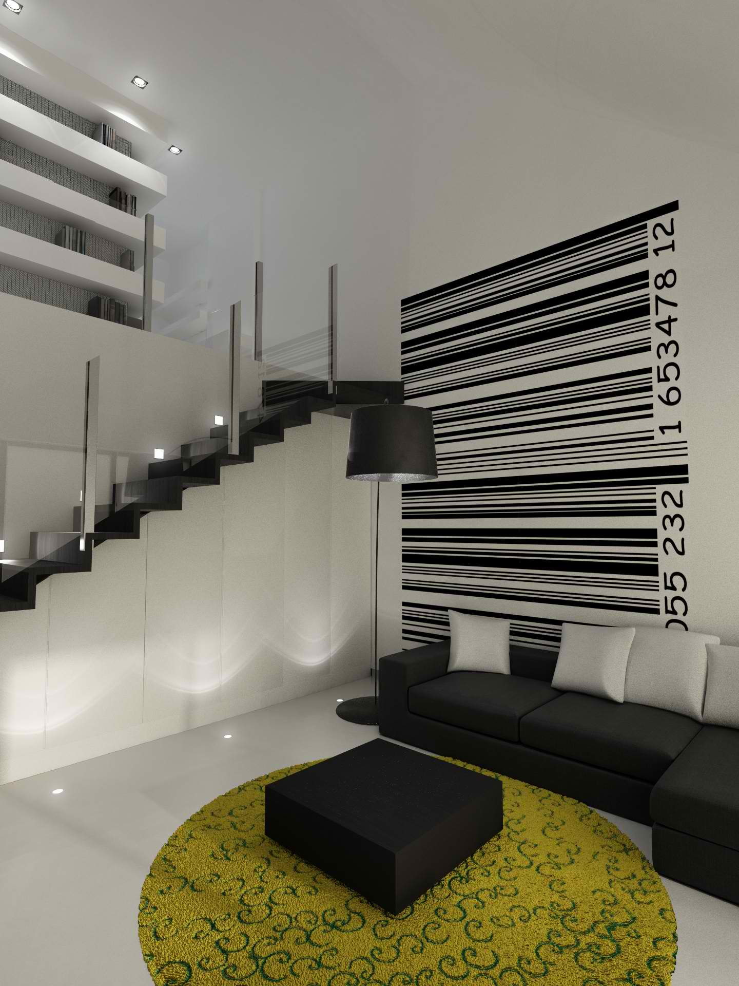 Modern Small Loft Interior Design Sussana Cots