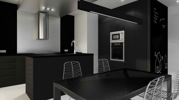modern wenge kitchen design 4 by sussana cots