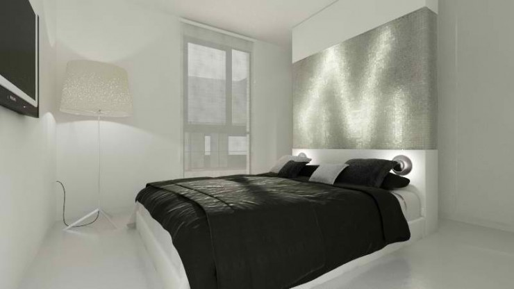 modern minimal bedroom design by sussana cots