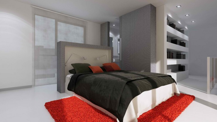 modern master bedroom design by sussana cots