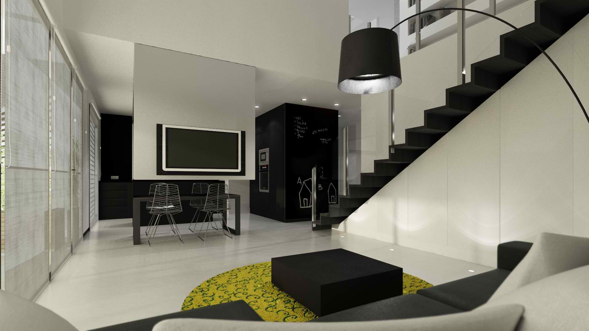 modern living room design by sussana cots