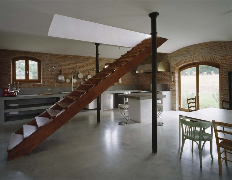 old house interior design. old barn interior design Country House with Contemporary Touches by Park Associati  Decoholic
