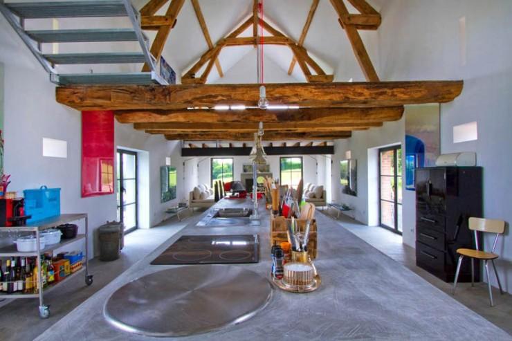 rustic modern concrete interior design 4 ideas