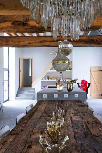 rustic modern concrete interior design 6 ideas