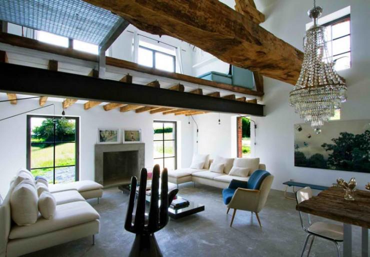 rustic modern concrete interior design 7 ideas