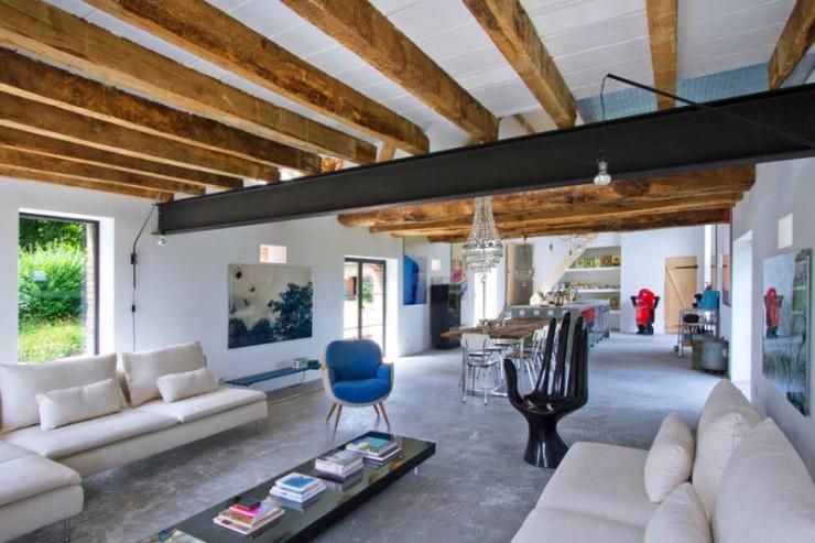 rustic modern concrete interior design 8 ideas