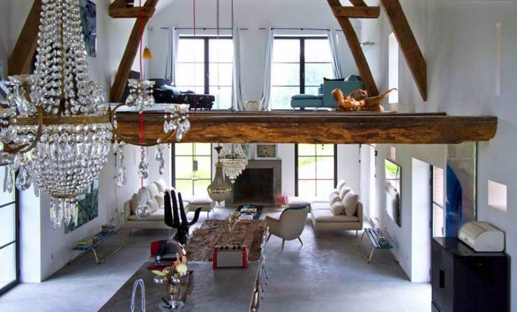 rustic modern concrete interior design 9 ideas