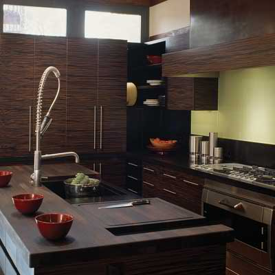 small kitchen design 16 with dark cabinets