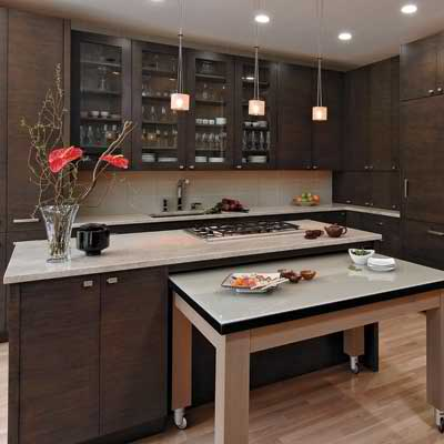kitchen island table 35 clever and stylish small kitchen design ideas decoholic 13322