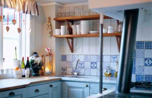 country style in kitchen