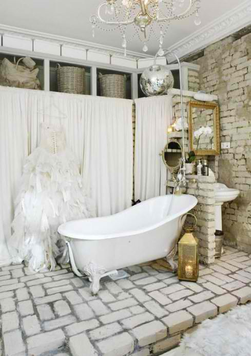 french style stone bathroom design