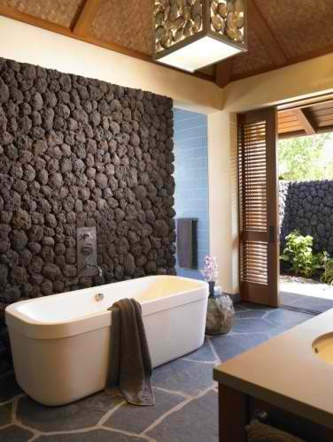 awesome stone bathroom 22 design