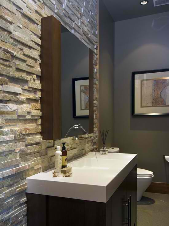 40 Spectacular Stone Bathroom Design Ideas Decoholic
