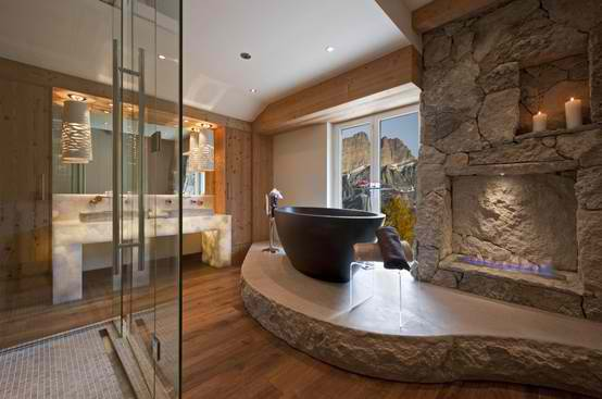 Stone Bathroom Designs 40 spectacular stone bathroom design ideas - decoholic