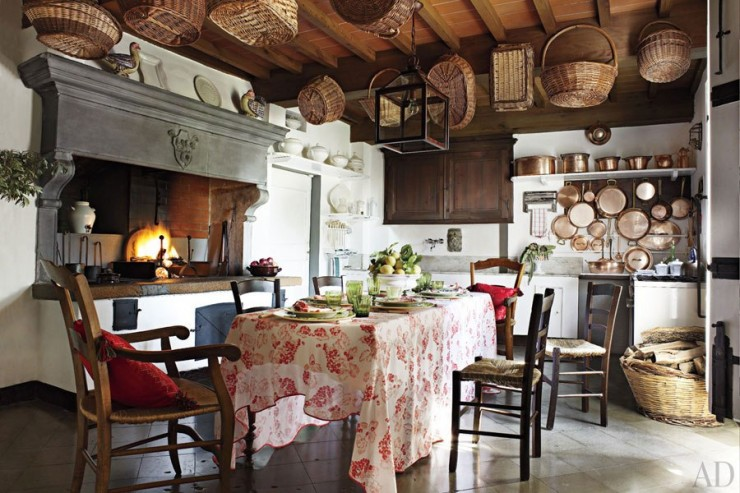 tuscan country kitchen design