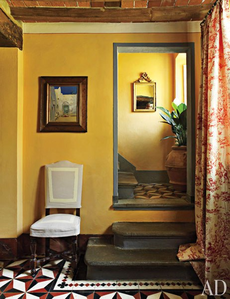 Tuscan Interior Paint Colors: Historic Stone Manor In Tuscany