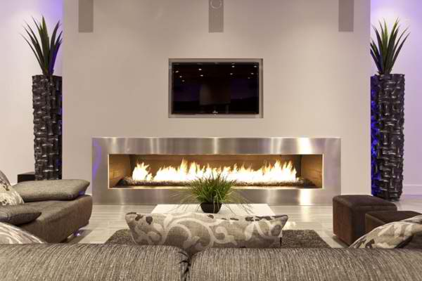 tc above modern fireplace 13 - Modern Fireplace Design Ideas