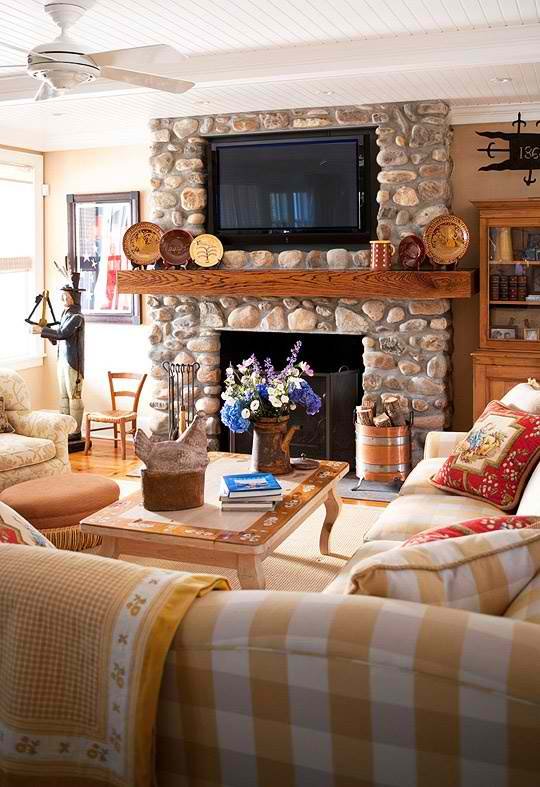 Living Room With Tv Above Fireplace Decorating Ideas 20 amazing tv above fireplace design ideas - decoholic