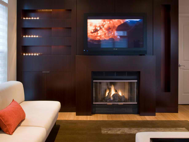20 Amazing TV Above Fireplace Design Ideas - Decoholic
