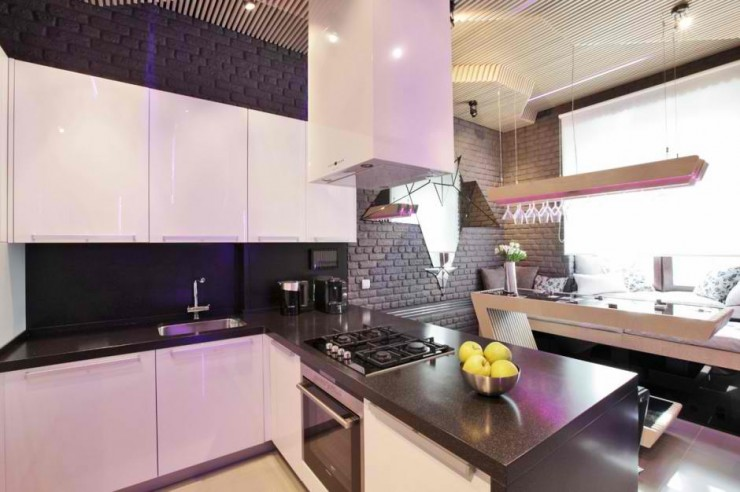 Ultra Modern ParametriX Kitchen by Geometrix Design7