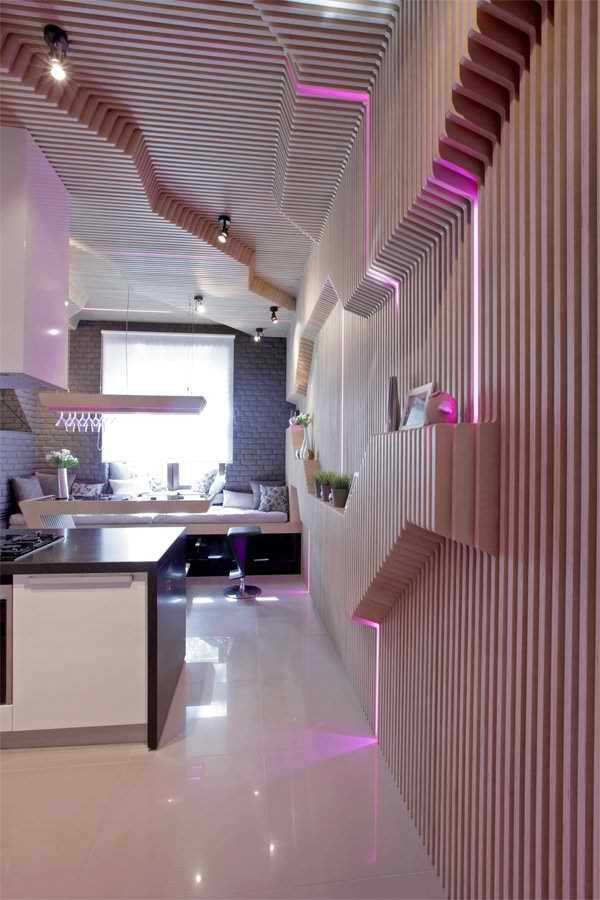 Ultra Modern ParametriX Kitchen by Geometrix Design8