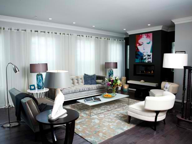Delicieux Urban Sophisticated Living Room Design Ideas