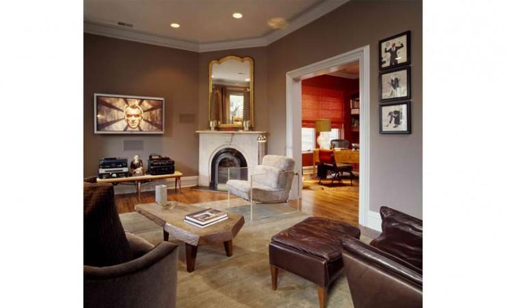 urban sophisticated living room design by Alan Design Studio
