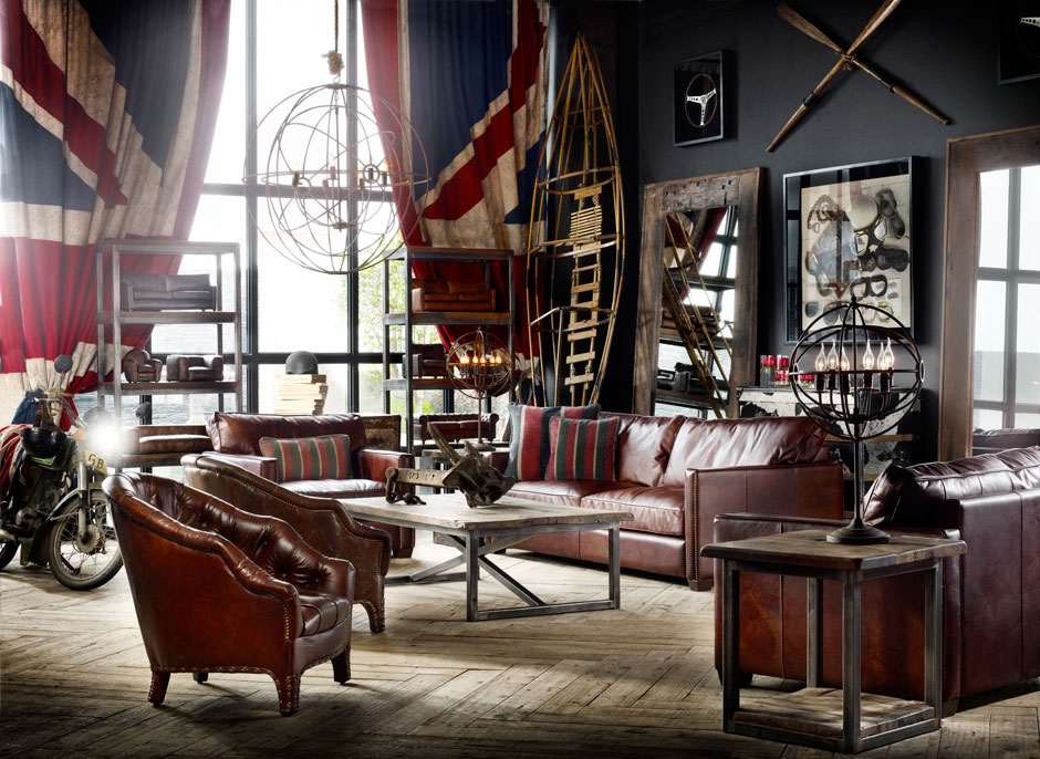 vintage room by Timothy Oulton 2
