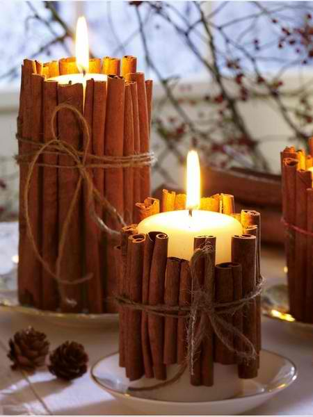 candles Christmas centerpieces 18