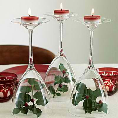 candle Christmas centerpieces 32