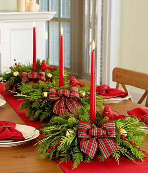christmas table dressing ideas. Floral Christmas Centerpieces 38 Table Dressing Ideas B