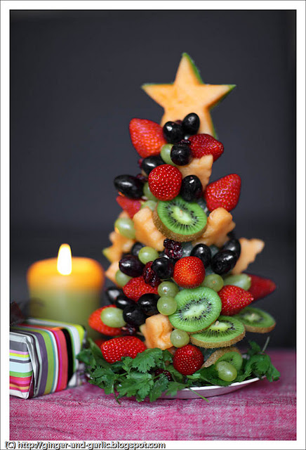 fruit Christmas centerpieces 39