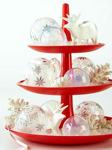 ornaments christmas table arrangements centerpieces 5